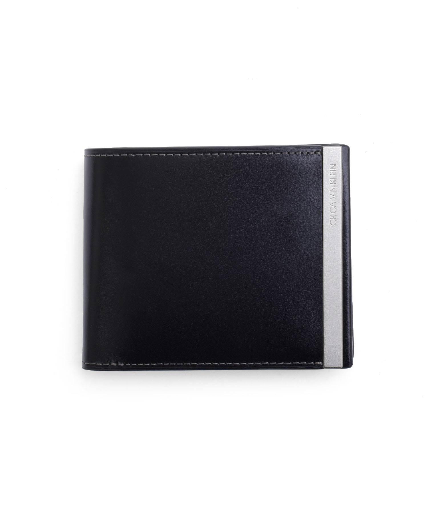 CKカルバン・クライン トップ 二つ折り財布 中ベラ付き カード段10