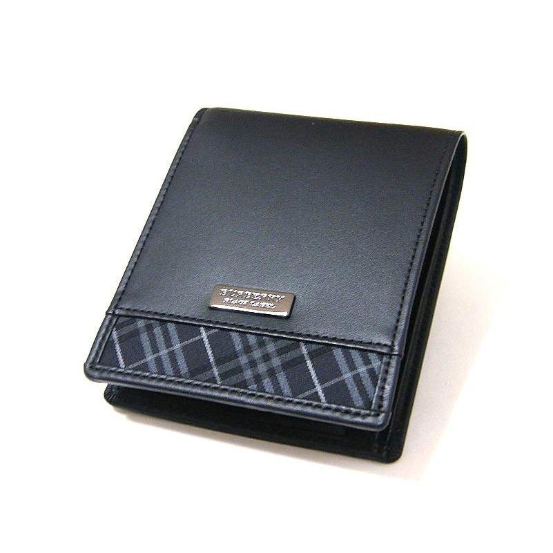 バーバリーブラックレーベル 2つ折り財布 BB490