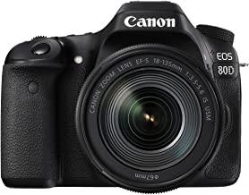 Canon デジタル一眼レフカメラ EOS 80D レンズキット