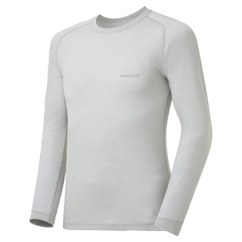 モンベル スーパーメリノウール L.W. ラウンドネックシャツ
