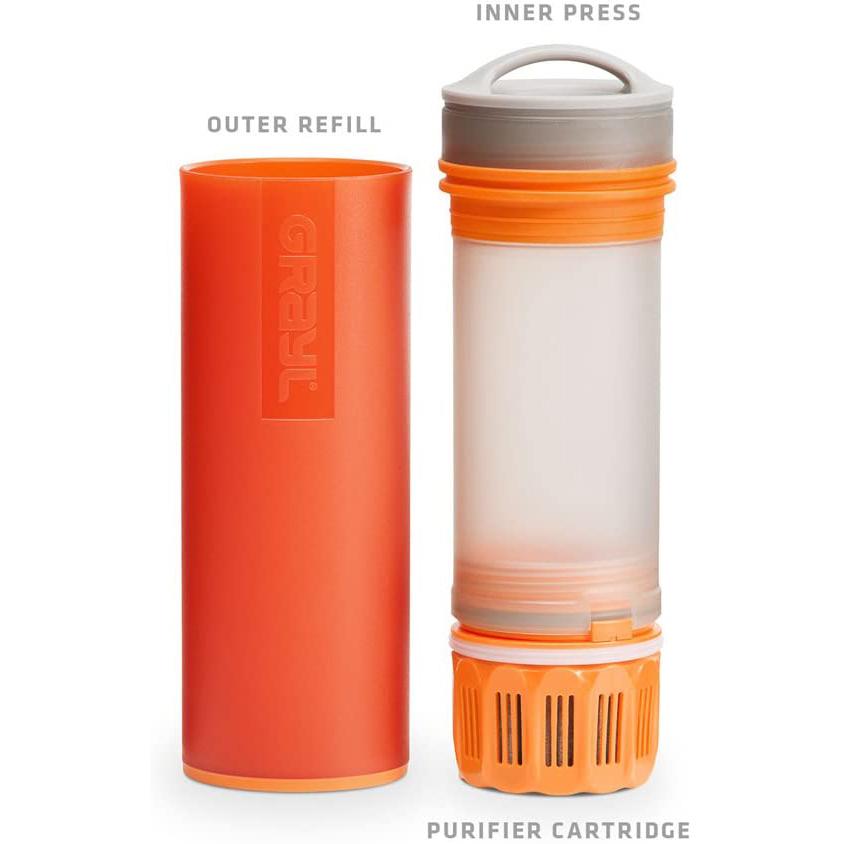 グレイル(Grayl) 浄水ボトル ULウォーターピュリファイヤーボトル